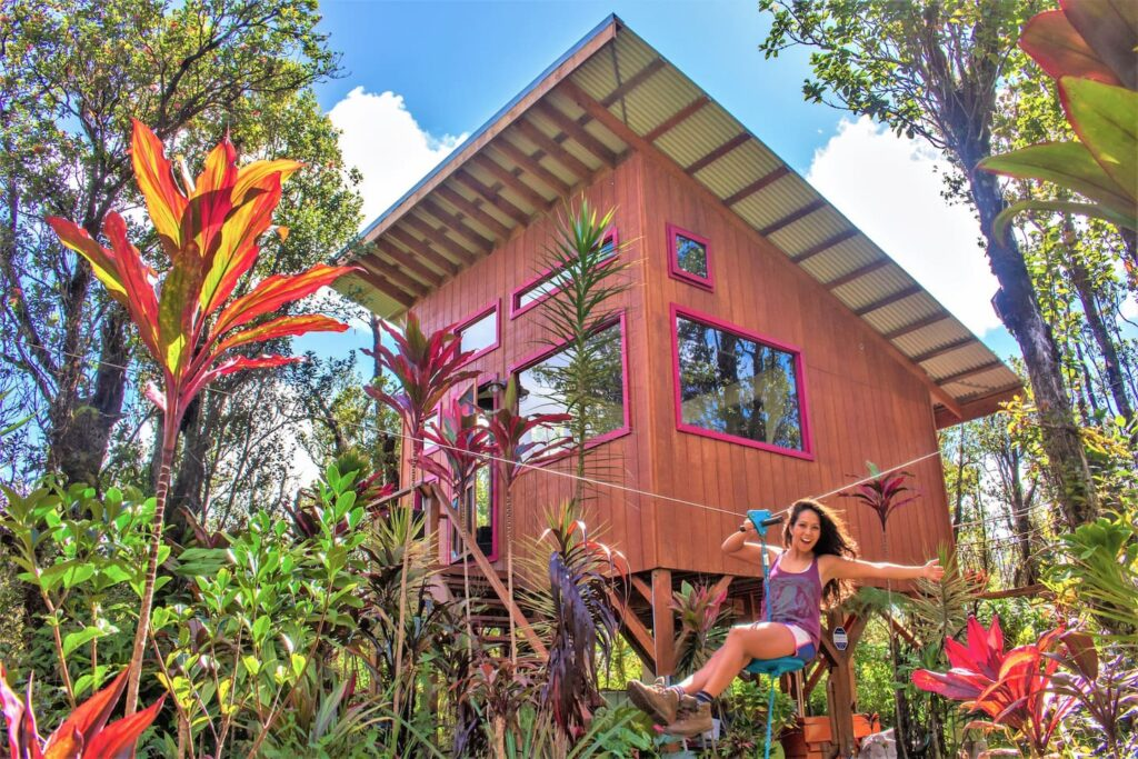 Unique Airbnb's -  Adventure Treehouse - As featured on HGTV! Mt. View, Hawaii
