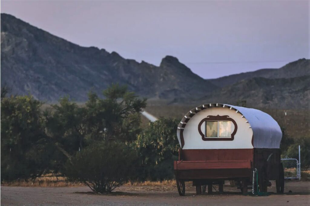 Covered Wagon /Near Las Vegas on Dude Ranch - Sandy Valley, Nevada unique airbnb's