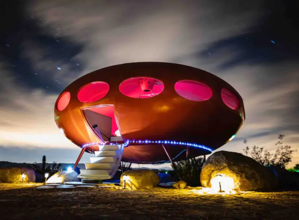 Unique Airbnb's - Area 55 house in Joshua Tree, California