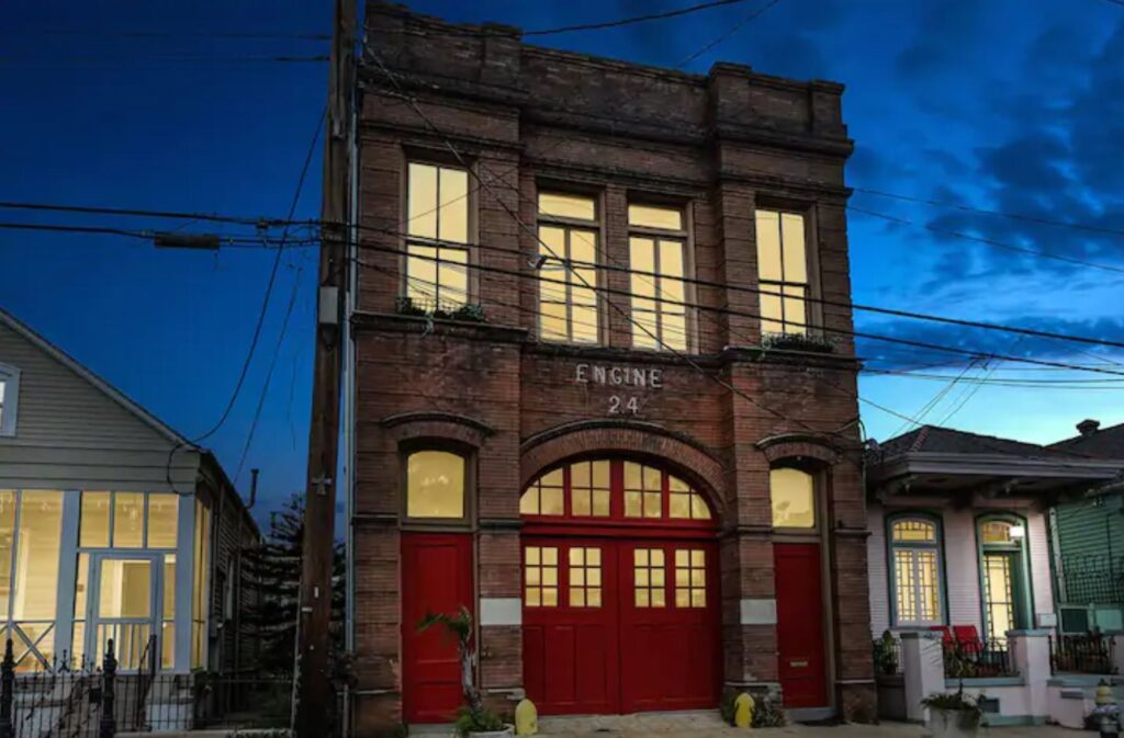 Stay in a New Orleans historic firehouse, Louisiana - Unique Airbnb's