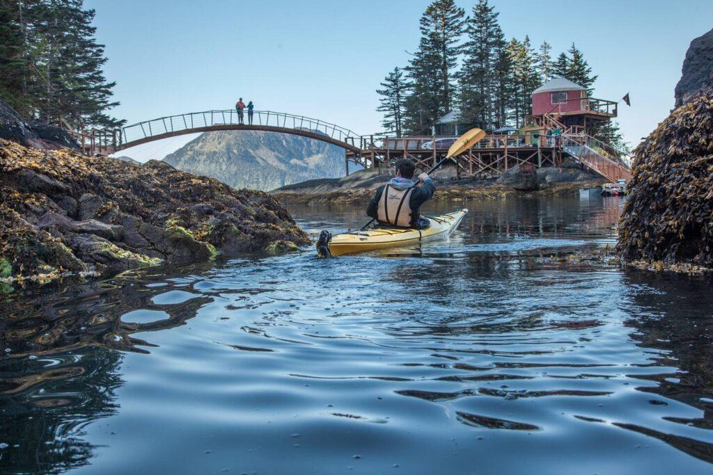 Orca Island Yurts, Seward, Alaska - Most Unique Airbnb's in the USA