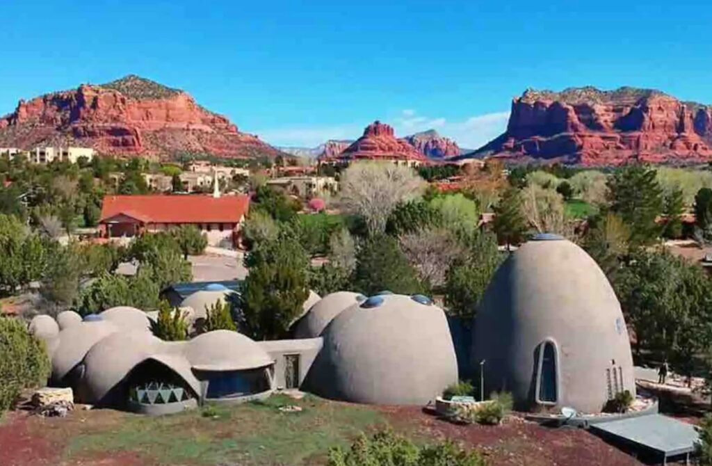 Unique Airbnb's Sedona Domes 5-Star Landmark Extreme Home, Sedona Arizona