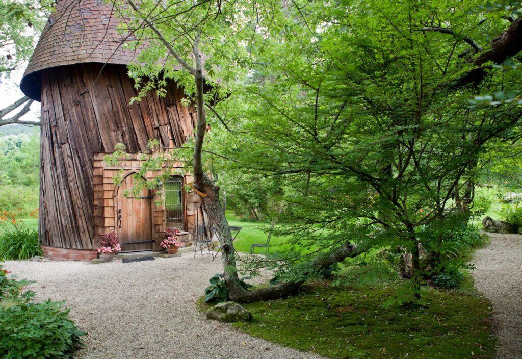 'Silo Studio' Cottage, Tyrinham, Unique Airbnb's - Massachusetts