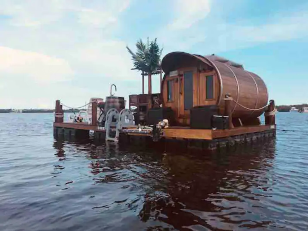 The Salty Seahorse - Unique Floating Barrel Cabin,  Key Largo, Florida - Unique Airbnb's