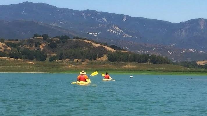 Lake Casitas kayaking